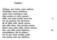 Catullus: Xxxi