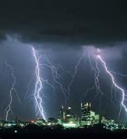 A Thunderstorm In Town
