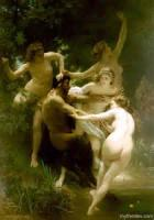 Pan, Echo, And The Satyr