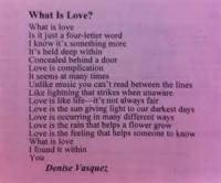 Love - What Is Love?
