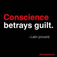 Conscience And Remorse