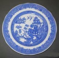 Ye Story Of A Blue China Plate