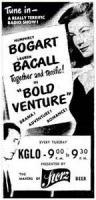 Venturesome Boldness