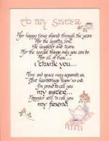 To A Sister