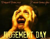 Judgment Day (every Day Is Judgment Day)