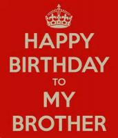 My Brother's Birthday