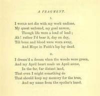 A Fragment