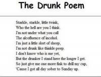 Of A Drunkard