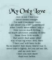 Enough Of Love! (sonnet)