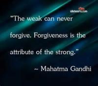 The Fun Of Forgiving