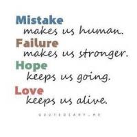 Hope In Failure