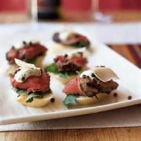 Appetizers - Beef -  Beef Tenderloin Party Sandwiches