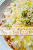 Appetizers - Beef -  Beef And Bean Dip