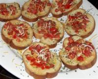 Appetizers - Bread -  Bruschetta