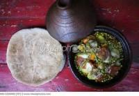 African - Vegetable -  African Mixed Vegetables Tajine