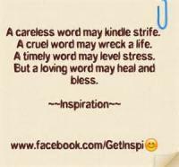 Careless Words