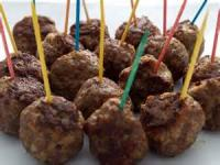 Appetizers - Beef -  Italian Party Meatballs
