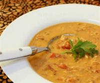 African - Soup -  African Chicken-peanut Soup