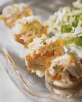 Appetizers - Canapes -  Crab Canapes