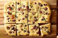 Appetizers - Bread -  Christmas Foccacia