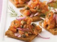 Appetizers - Canapes -  Hot Artichoke Canapes