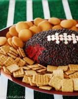 Appetizers - Cheese Ball -  Red Cheese Ball