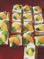 Appetizers - Cheese Log -  Mandarin Log