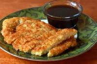 Appetizers - Chicken -  Crispy Coconut Chicken Fingers With Apricot Dipping Sauce