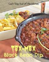 Appetizers - Dip -  Tex Mex Black Bean Dip