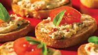 Appetizers - Crostini -  Dried Tomato Crostini