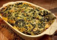 Appetizers - Dip -  Spinach-cheese Dip