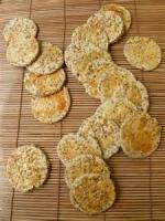 Appetizers - Crackers -  Benne Seed Wafers