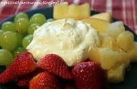 Appetizers - Dip Creamy Fruit Dip