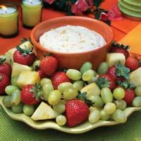 Appetizers - Dip Fruit Dip