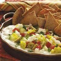 Appetizers - Dip Mediterranian Dip With Pita Chips