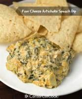 Appetizers - Hot Artichoke Spinach Dip