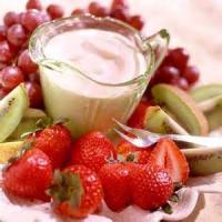 Appetizers - Dip Easy Lowfat Fruit Dip