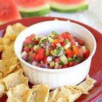 Appetizers - Fruit Watermelon Salsa