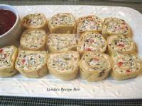 Appetizers - Mexican Pinwheels
