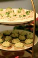 Appetizers - Ham -  Deviled Ham Canapes