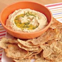 Appetizers - Hummus With Pita Crisps