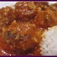 Appetizers - Porcupine Meatballs