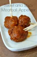 Appetizers - 3 Ingredient Saucy Meatballs