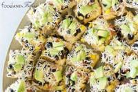 Appetizers - Mexican Taco Pizza