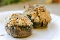 Appetizers - Mushrooms Sausage And Cheese Stuffed
