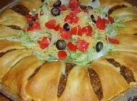Appetizers - Mexican Taco Ring