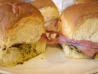Appetizers - Sandwiches -  Appetizer Ham Sandwiches