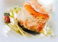 Appetizers - Seafood Salmon Log
