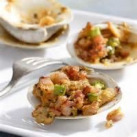 Appetizers - Seafood Clams Casino