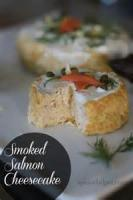 Appetizers - Salmon Cheesecake
